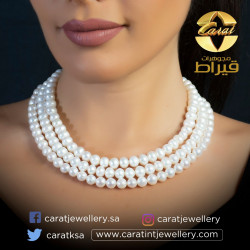 Women's Silver 925 Necklace with Pearl